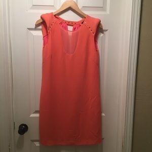 Peach Zara Dress